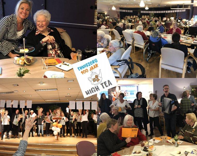 Groot Feest Voor 100ste Verjaardag Marente Thuiszorg Sassenheim
