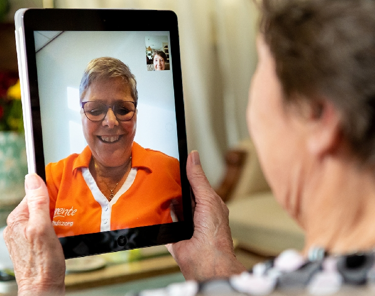 E-health projecten Marente thuiszorg
